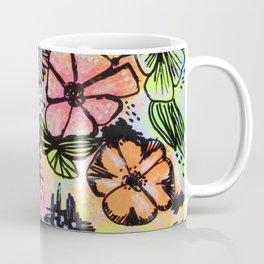 NeonFlowers Coffee Mug