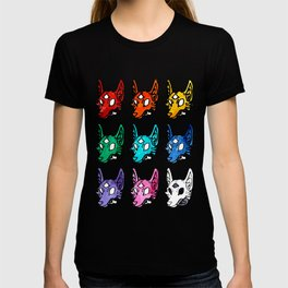 Candy Colored Space Coyotes T-shirt