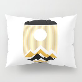 The Day The Sun Disappears Pillow Sham