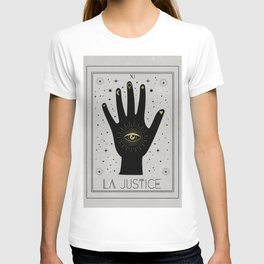 La Justice or The Justice Tarot T-shirt