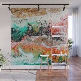 Painted Reality #abstract #painting Wall Mural