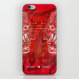 Anatomy of a Disaster. iPhone Skin