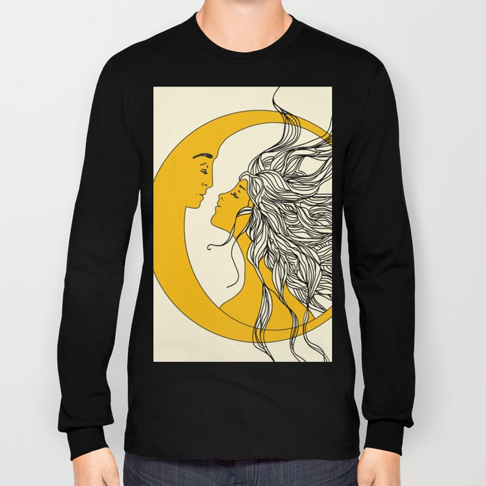 Sun and Moon Long Sleeve T-shirt