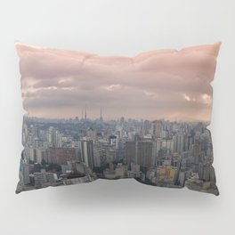 Sao Paulo Panorama Pillow Sham