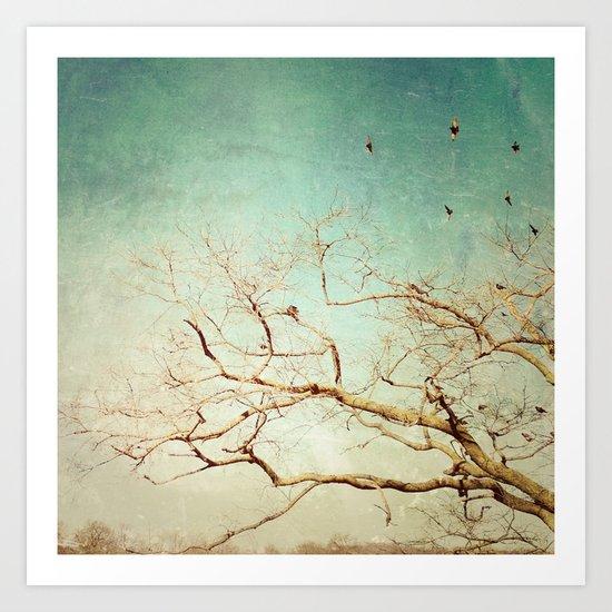 The Birds 2 Art Print