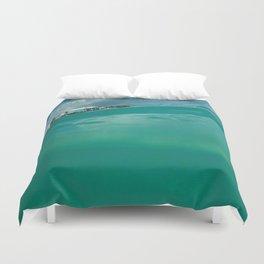 Turquoise Tide Duvet Cover