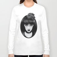 lady Long Sleeve T-shirts featuring Lady by KUI29