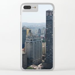 São Paulo Clear iPhone Case