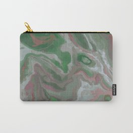 Green & Red Carry-All Pouch