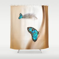 shining Shower Curtains featuring Shining Life by Just Kidding
