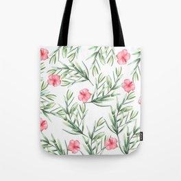 Delicate Hibiscus Tote Bag