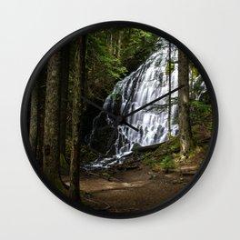 Ramona Falls, Oregon Wall Clock