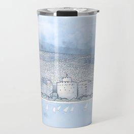 Thessaloniki seafront Travel Mug