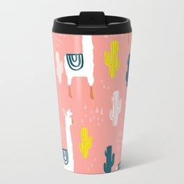 Llamas & Cacti Travel Mug