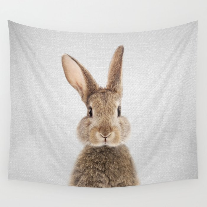 Rabbit - Colorful Wall Tapestry