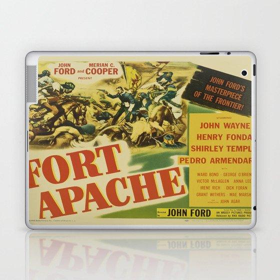 John Wayne in Fort Apache Laptop & iPad Skin by scooby172