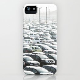 Sea of Cars iPhone Case