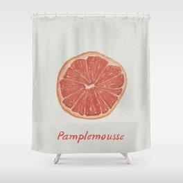 Pamplemousse Pink Grapefruit  Shower Curtain