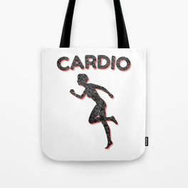 Cardio Running Female Tote Bag