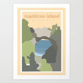 Mackinac Island Michigan  Art Print