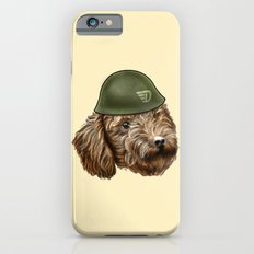 Toy Poodle Soldier iPhone 6s Slim Case