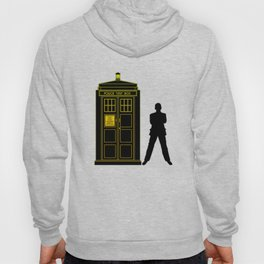 Tardis With The Ninth Doctor Hoody