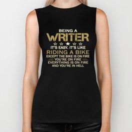 Being a Writer Biker Tank