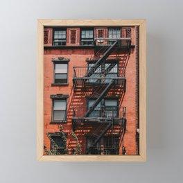 NY City Building | Fine Art Travel Photography Framed Mini Art Print