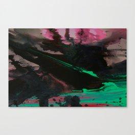 Wet paint 4 Canvas Print