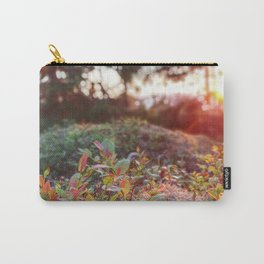 Evening glow in the forest Carry-All Pouch