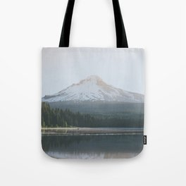 Trillium Lake Sunrise - Nature Photography Tote Bag