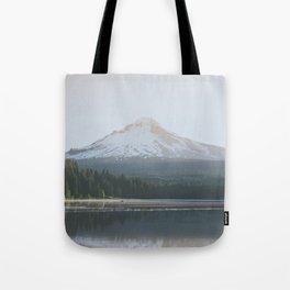 Trillium Lake Sunrise - Nature Photography Tote Bag