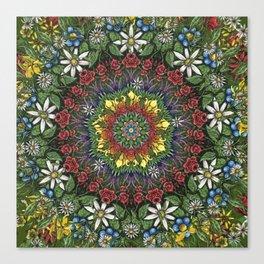 Garden Burst Canvas Print