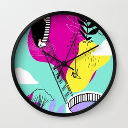 Daydreaming in ChromaCity Wall Clock