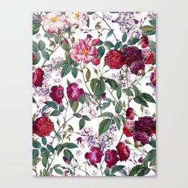 Rose Garden IV Canvas Print