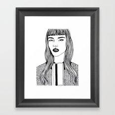 Inktober 09_2016 Framed Art Print