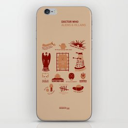 Doctor Who | Aliens & Villains iPhone Skin