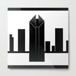 Chicago 2V Metal Print
