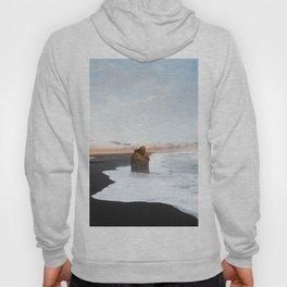 Black Sand Beach, South Iceland Hoody