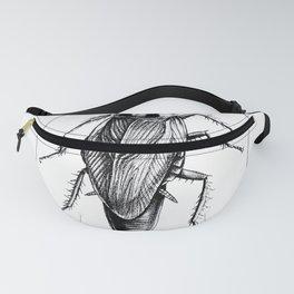 Cockroach Pen Art Drawing Fanny Pack