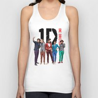 one direction Tank Tops featuring One Direction by Marianna
