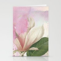 magnolia Stationery Cards featuring magnolia by clemm