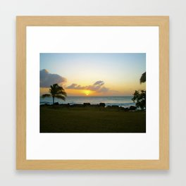 Treasure Beach Framed Art Print