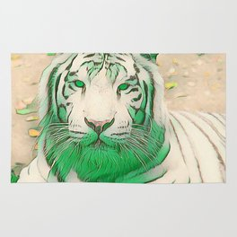 Green Tiger Rug