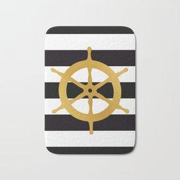 Ship Wheel Bath Mat