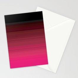 Pink is the New Black is the New Pink Stationery Cards