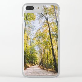 Forest Road - Muir Valley, Kentucky Clear iPhone Case