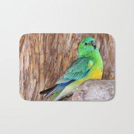 Graceful Parakeet Bath Mat