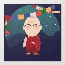 The Dalai Lama Canvas Print