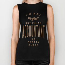 Accountant - Funny Job and Hobby Biker Tank